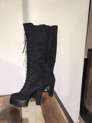 Pazzle Platform Boots black
