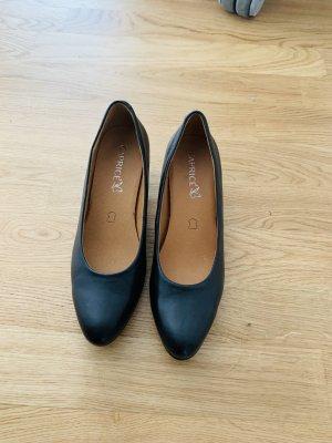 Caprice High Heels black mixture fibre