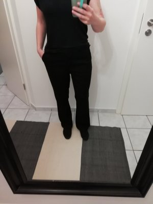 Schwarze schicke Stoffhose