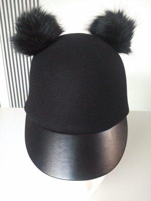 H&M Divided Cappellino nero