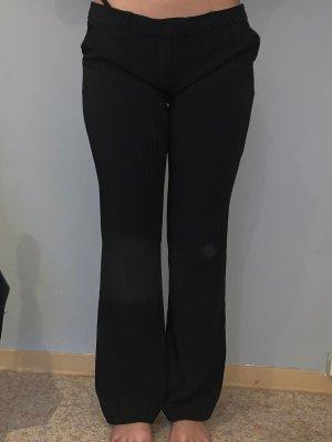 Amisu Pantalon pattes d'éléphant noir