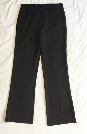 Zara Pantalon pattes d'éléphant noir tissu mixte