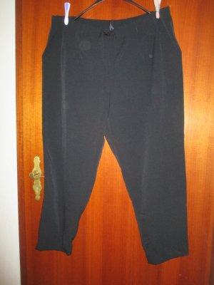 Schwarze Schlupfhose in Größe 52