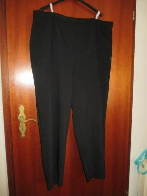 meine grösse Stretch broek zwart Polyester
