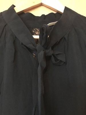 Naf naf Bluzka z kokardą czarny