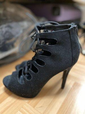 Catwalk Lace-up Pumps black