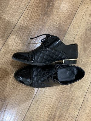 Jenny Fairy Wingtip Shoes black