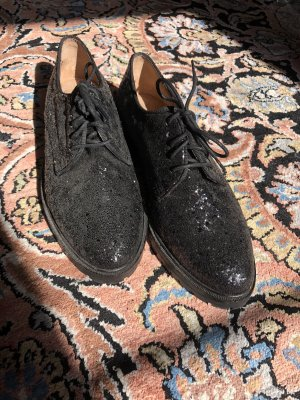 Schwarze Schuhe Glitzer Another A