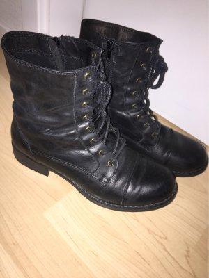 Schwarze Schuhe, Größe: 41
