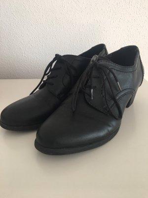 schwarze schuhe von deichmann