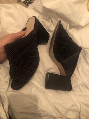 H&M Heel Pantolettes black