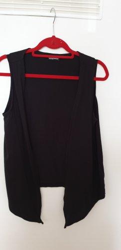 Schwarze Shirtweste Gr. 40/42