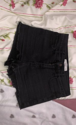 Abercrombie & Fitch Krótkie szorty czarny