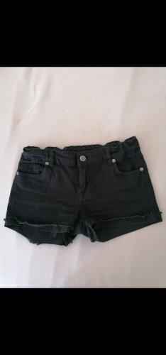 Schwarze Shorts, damen