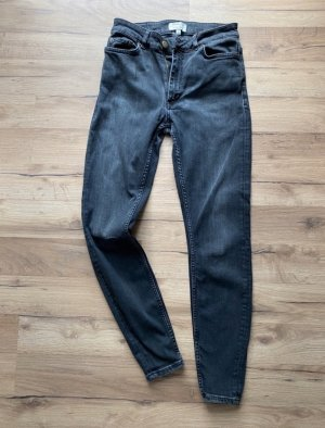 & other stories Jeans taille haute noir