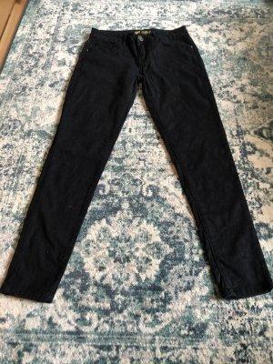 schwarze Skinny Jeans, bestickt, Primark
