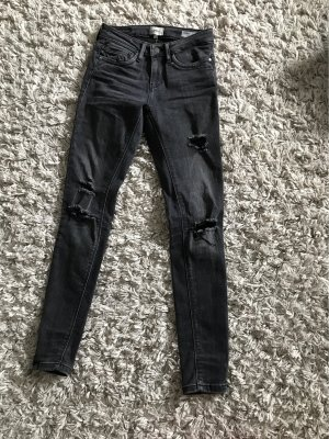 Only Drainpipe Trousers black