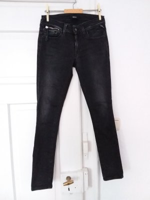 schwarze Skinny Jeans Replay casual Style