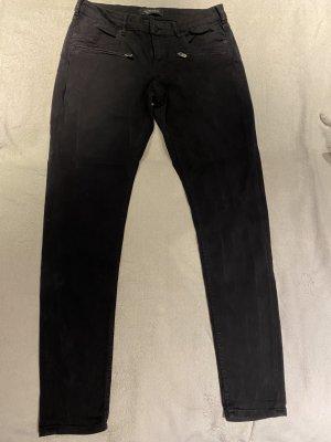 Schwarze Skinny-Jeans von Maison Scotch