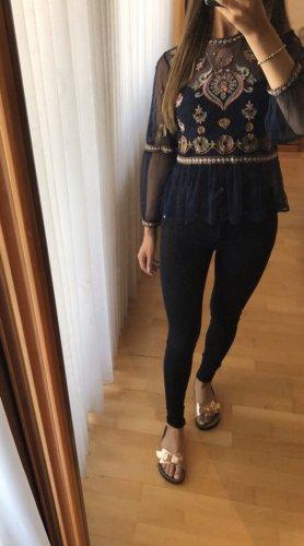 Schwarze Skinny-Jeans von Mango