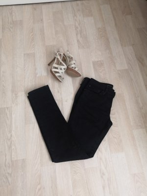 Schwarze Skinny Jeans W26 L32