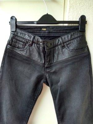 Maje Jeans skinny nero