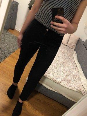 Schwarze Skinnyjeans von Zara
