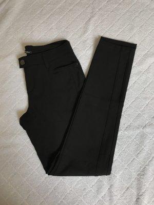 Schwarze Slim Hose von StreetOne in der Größe 36/32