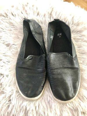 Schwarze Sliper