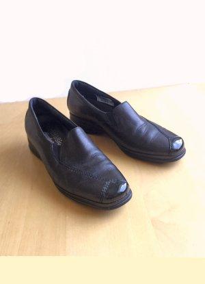 schwarze Slipper von Semler, Größe 6H (39)