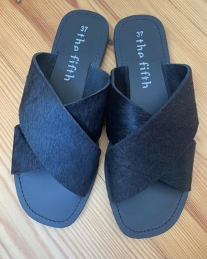The Fifth Label Sandalias cómodas negro