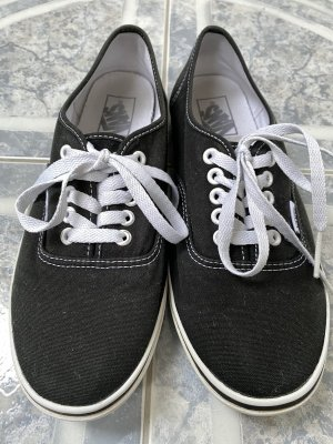 Schwarze Sneaker Vans