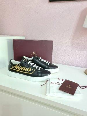 schwarze Sneaker von Aigner