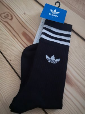 Adidas Bottes d'intérieur blanc-noir
