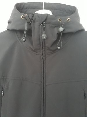 active by Tchibo Giacca softshell nero