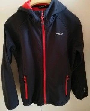 CMP Softshell Jacket black-magenta
