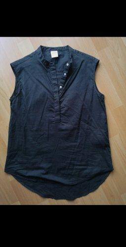 schwarze sommerliche Bluse