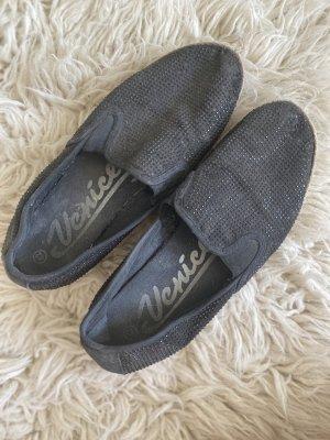 Mocassins zwart