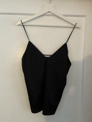 Zara Basic Spaghetti Strap Top black
