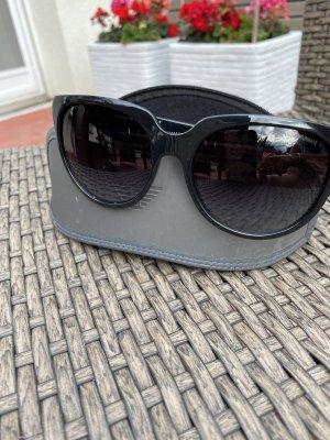 Schwarze Sonnenbrille Emporio