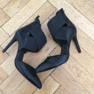 Bianco High Heels black imitation leather