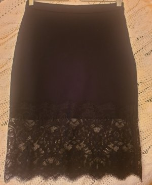 Zara Lace Skirt black
