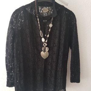 Anja B Lace Blouse black polyester