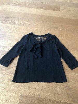 Review Blusa de encaje negro