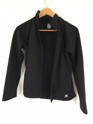 Schwarze Sport- Jacke