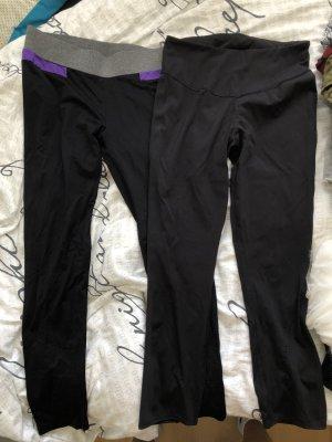 Schwarze Sport leggings