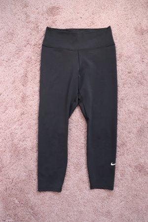 Schwarze Sport Tights Leggings von Nike Größe S 36 38 Dri Fit