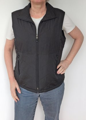 In Linea Quilted Gilet black polyester