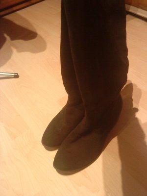 schwarze stiefel 40