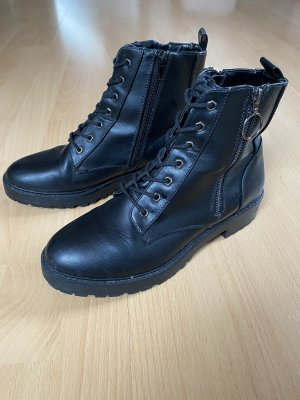 Only Lace-up Boots black